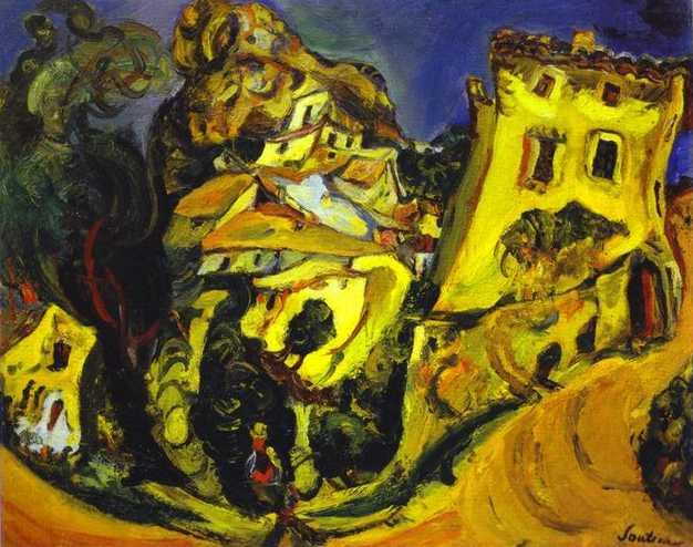 Soutine_LandscapeAtCagnes1923